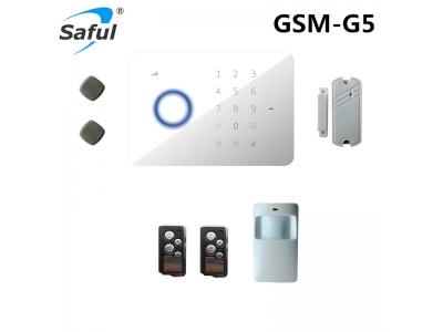 Saful G5 GSM/SMS/RFID Touc key Alarm System