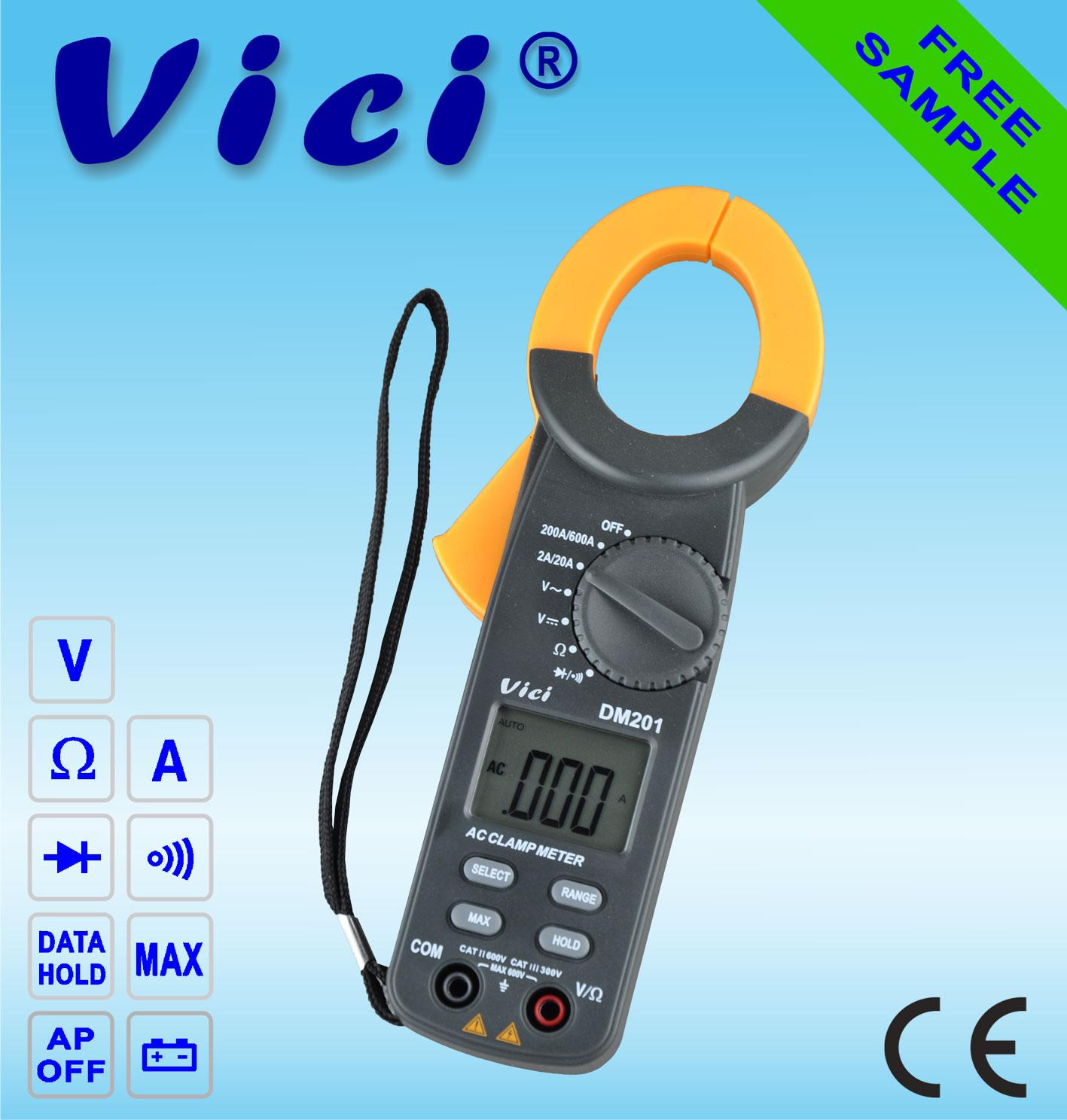 Digital Clamp Meters Cm 03 : Vc transistor tester equipmentimes