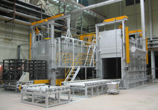 Bogie-hearth resistance furnace