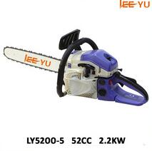 petrol chain saw wood cutting machine 52cc chain saw