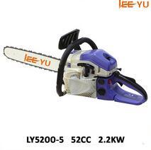 petrol chain saw wood cutting machine 52cc chain saw