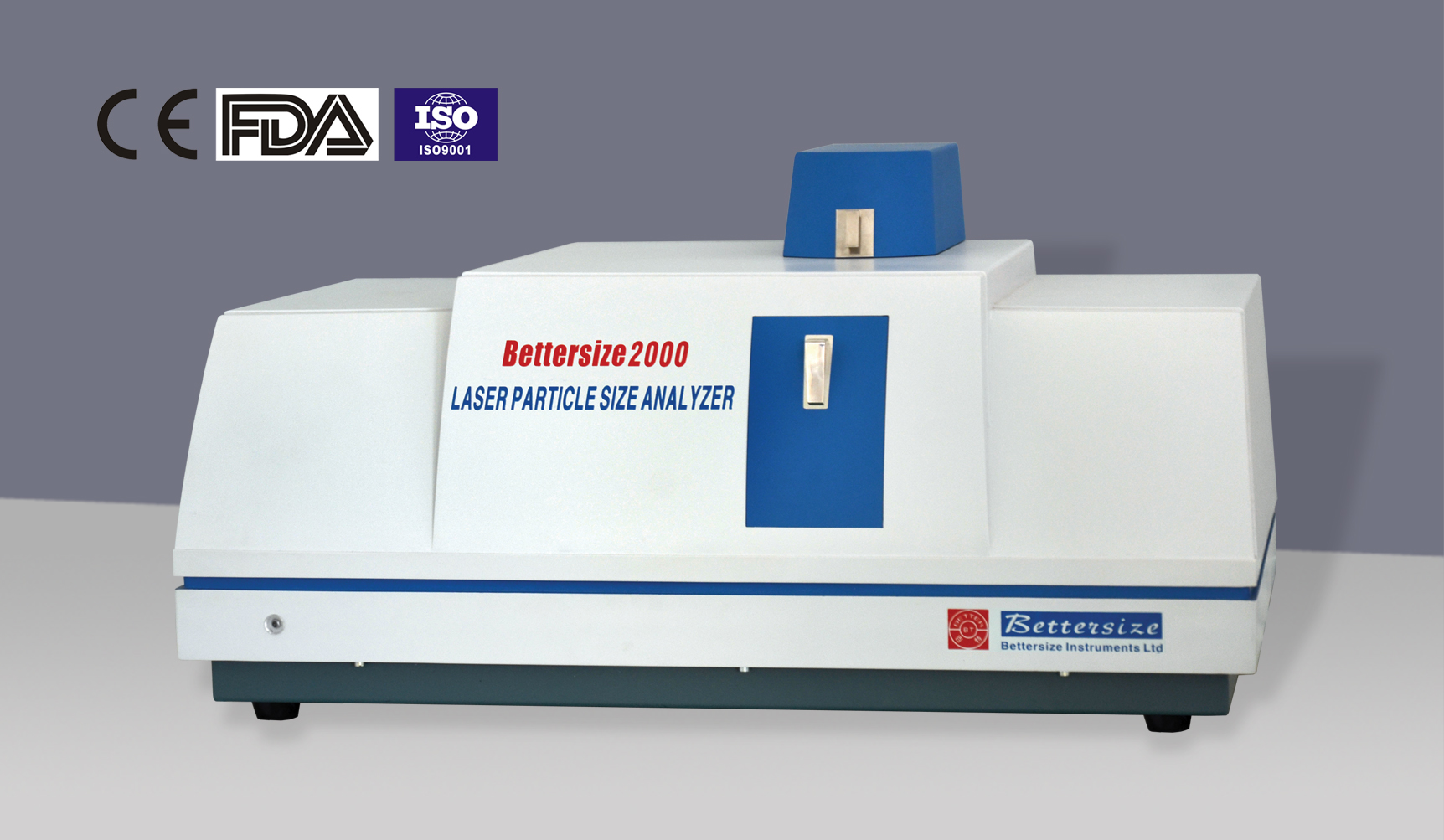 Bettersize 2000 Intelligent Laser Particle Size Analyzer