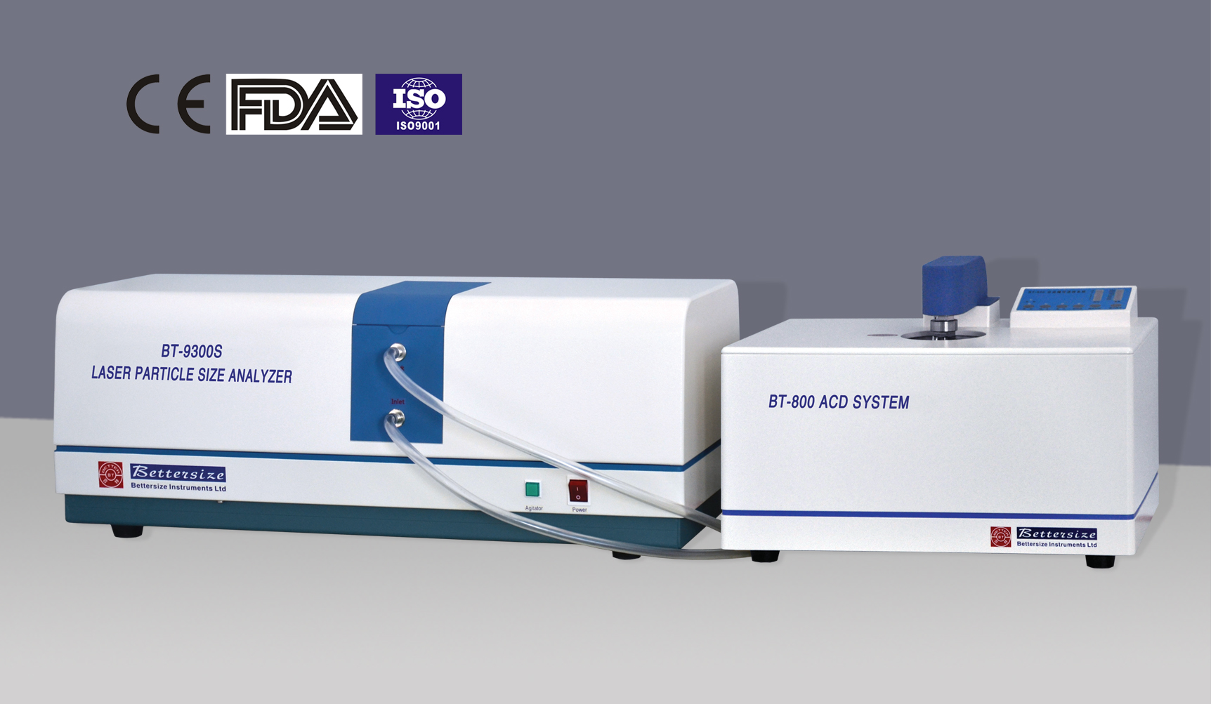 BT-9300S Laser Particle Size Analyzer