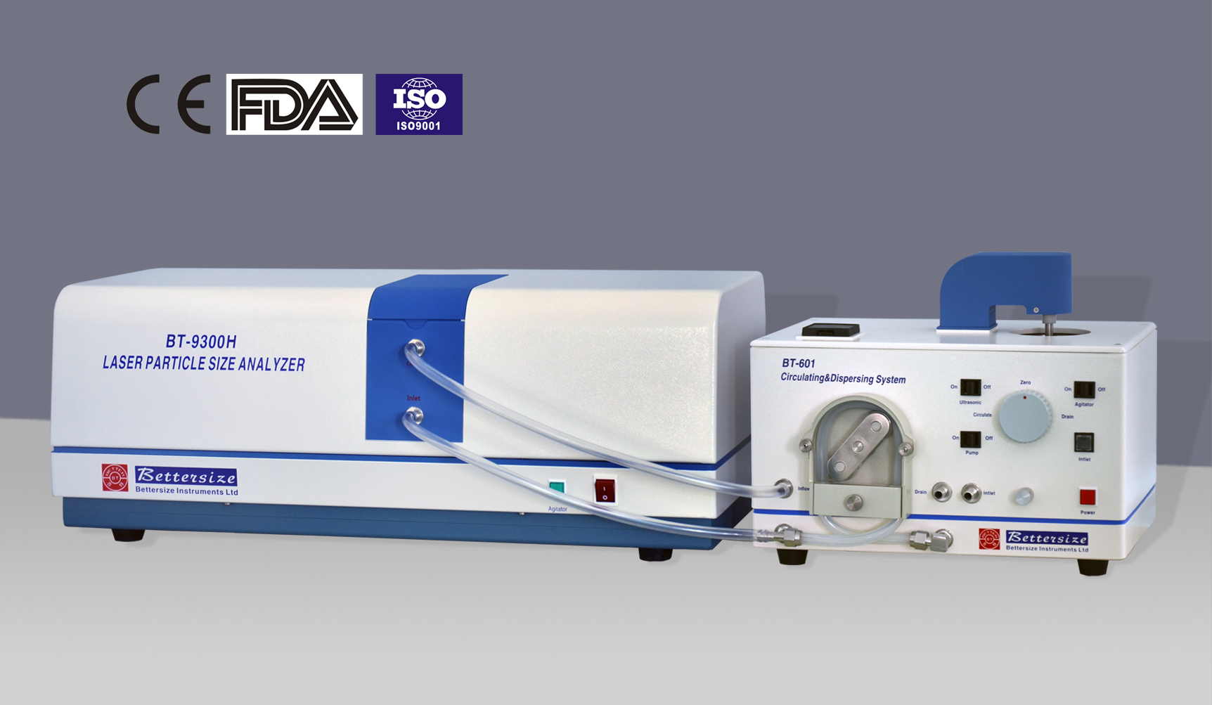 BT-9300H Laser Particle Size Analyzer(Economical)