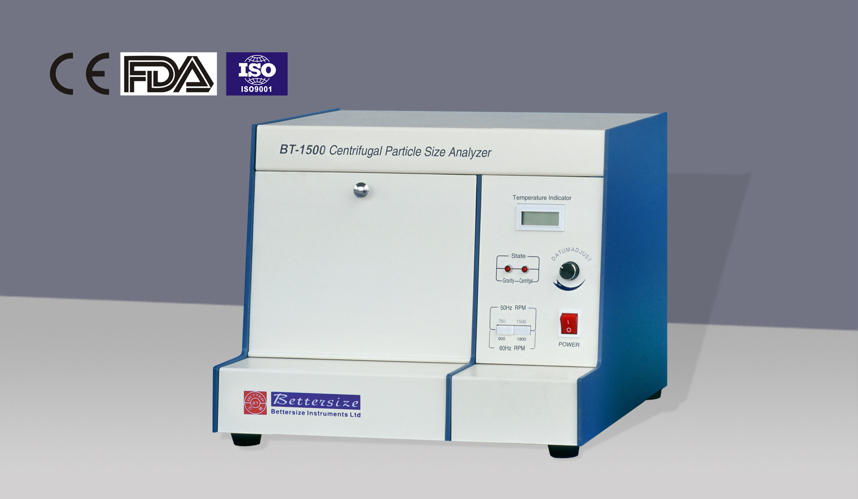 BT-1500 Centrifugal Sedimentation Particle Size Analyzer