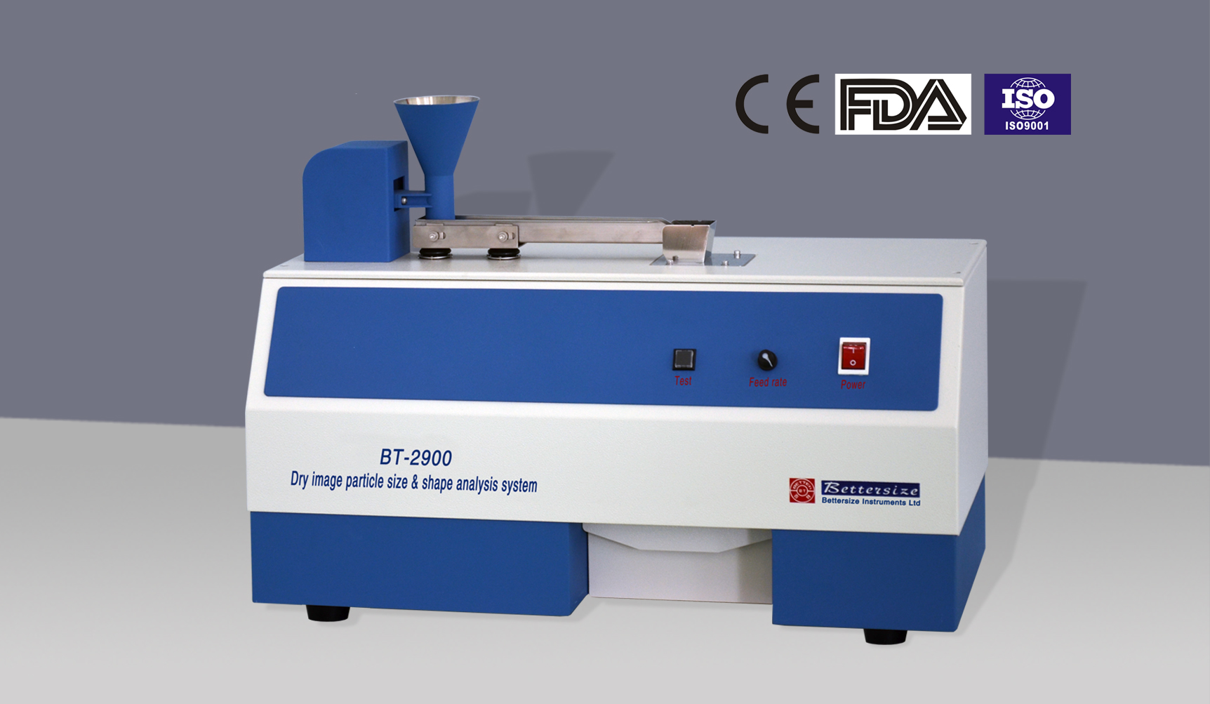 BT-2900 Image Particle Size & Shape Analysis System