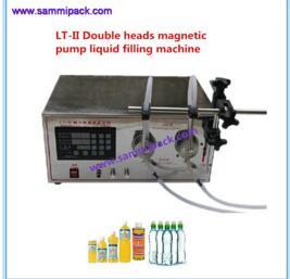 Máquina de llanado con bomba magnética de doble boquilla