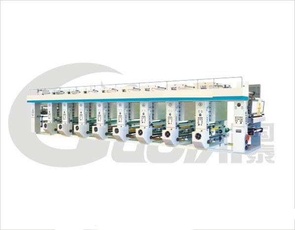 Высокоскоростная компьютерная глубокая печатная машина серии типа DFASY600-1000
