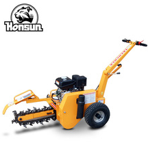9 Years no complaint portable household trench machine