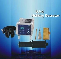 600v~8000v Oil and Gas Pipelines Porosity Holiday detector DJ