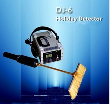 Industrial NDT porosity flaw detector high voltage Holiday Detector DJ-6A For Vessel