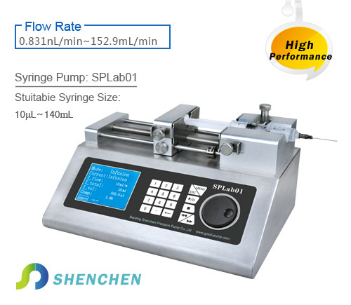 syringe pump SPLab01