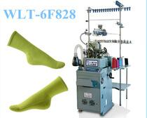 Jaquard socks knitting machine sandwich terry knit