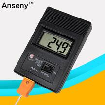 type probe high accurate digital thermometer industria