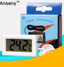 Mini LCD Digital Thermometer for refrigerators cabinet Cold Storage