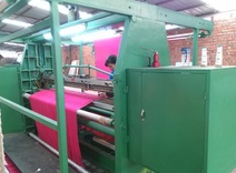 professional scarf fringing machine for scarf &blanket fringe working