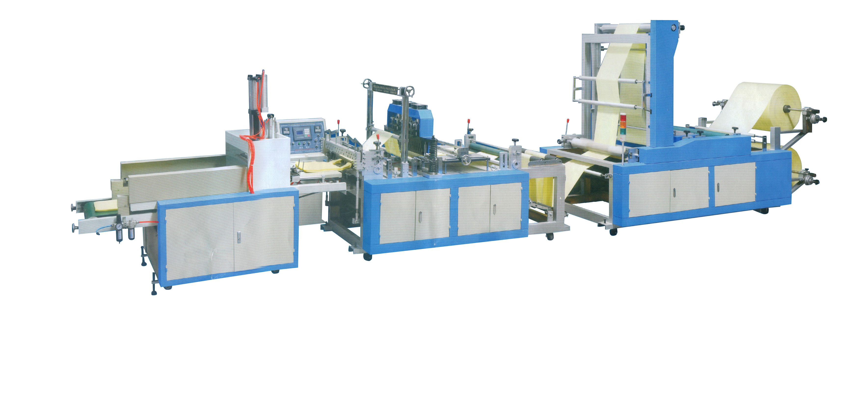 CYW-570 automatic non wowen fabrics bag making machine