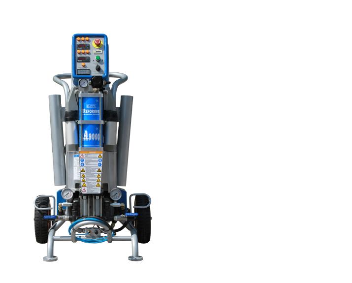 气动超高压聚脲/聚氨酯喷涂设备  JHPK-A9000