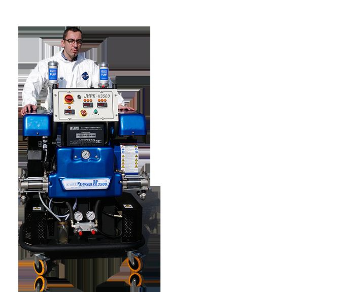 液压聚脲喷涂设备  JHPK-H3500