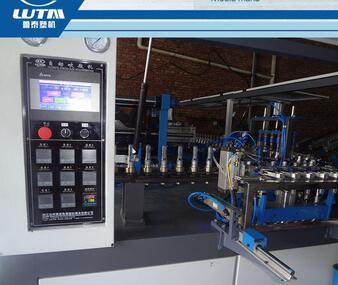 Full automatic plastic bottle blow moulding machine for castor bottle