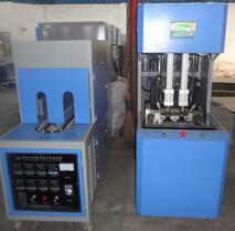 Semi-auto blow moulding machine for PET bottle