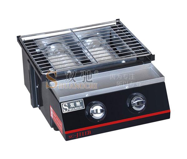 Double spraying Glass BBQ Grill SC-J111B