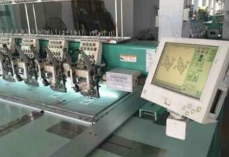 original Tajima embroidery machine, barudan
