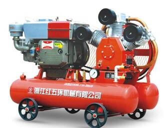 5Bar protable Diesel Piston Air Compress