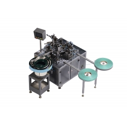 lubricating strip automatic pasting machine for disposable razor