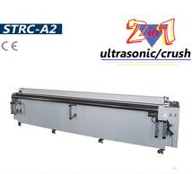 Ultrasonic and Crush 2 in 1 roller blind fabric cutting machine
