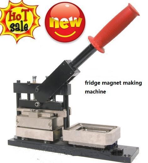 Metal Pneumatic Fridge Magnet Making Machine