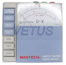 MASTECH MS5209 Earth Resistance Testers Meter 10ohm to 1000ohms