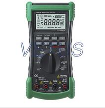 Counts Digital Multimeter Megger Insulation Resistance Meter True RMS AC Voltage Current Temperature Tester