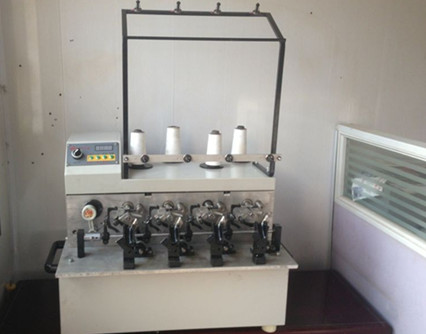 automatic four head bobbin winder machine