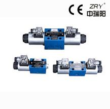 Electric hydraulic directional control valve hydraulic valve for injection machine hydraulic valve