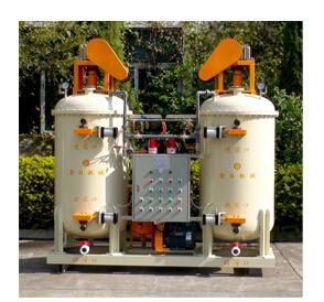 Vacuum de-bubbling barrels