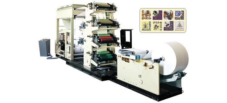 MH-330/MH-250 Six Colors Printing Napkin Tissue Machine