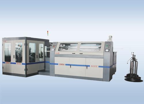 SX-820i 全自动双锥弹簧床网生产线