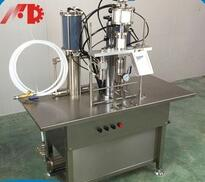Semi-Automatic aerosol filling machine for animal air freshener