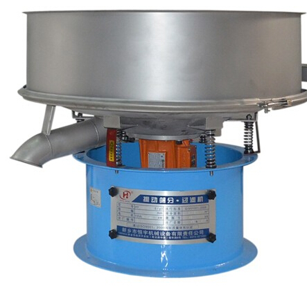 circular vibrating liquid sieve for ceramic slurry