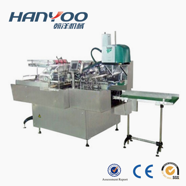 DZH-100B Automatic Foil Roll Cartoning Machine