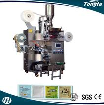 Automatic tea bag packing machine tea bag with thread and tag tea package machine