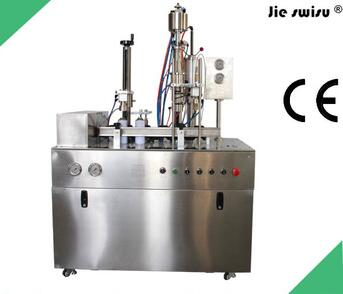 aerosol air freshener filling and sealing machine in 2016