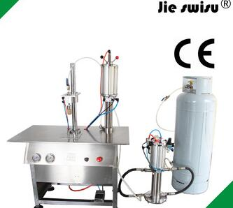 spray painting aerosol for filling and sealing machine