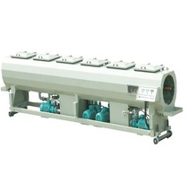 Vacuum tank of plastic pipe making machine