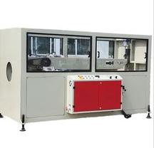 Hauler for pipe manufacturing machine