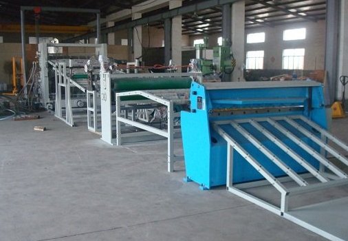 PVC PP PE sheet extrusion line