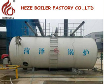 0.5 tonne Small Horizontal Low Pressure Steam Boiler Use LPG and Oil