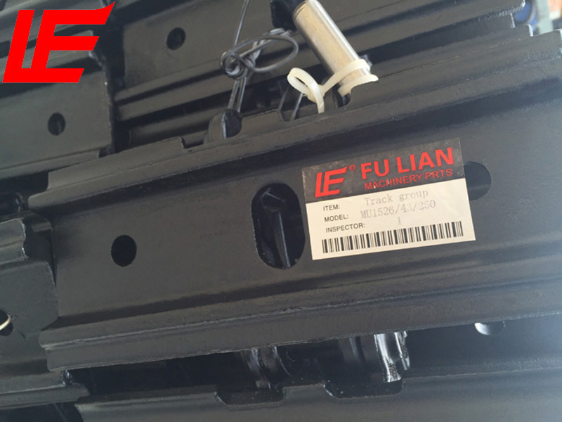MU1526 undercarriage spare parts steel track TB016S
