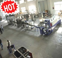 automatic mineral water washing filling and capping machine